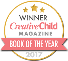 Seal reflecting 2017 Creative Child Magazine Book of the Year Award