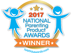 Seal reflecting 2017 National Parenting Product Award Winner