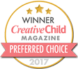 Award Seal:  Winner of Creative Child Magazine Preferred Choice (2017)