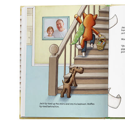 Personalized storybook with photos | Rainy Day Picnic | Read Your Story
