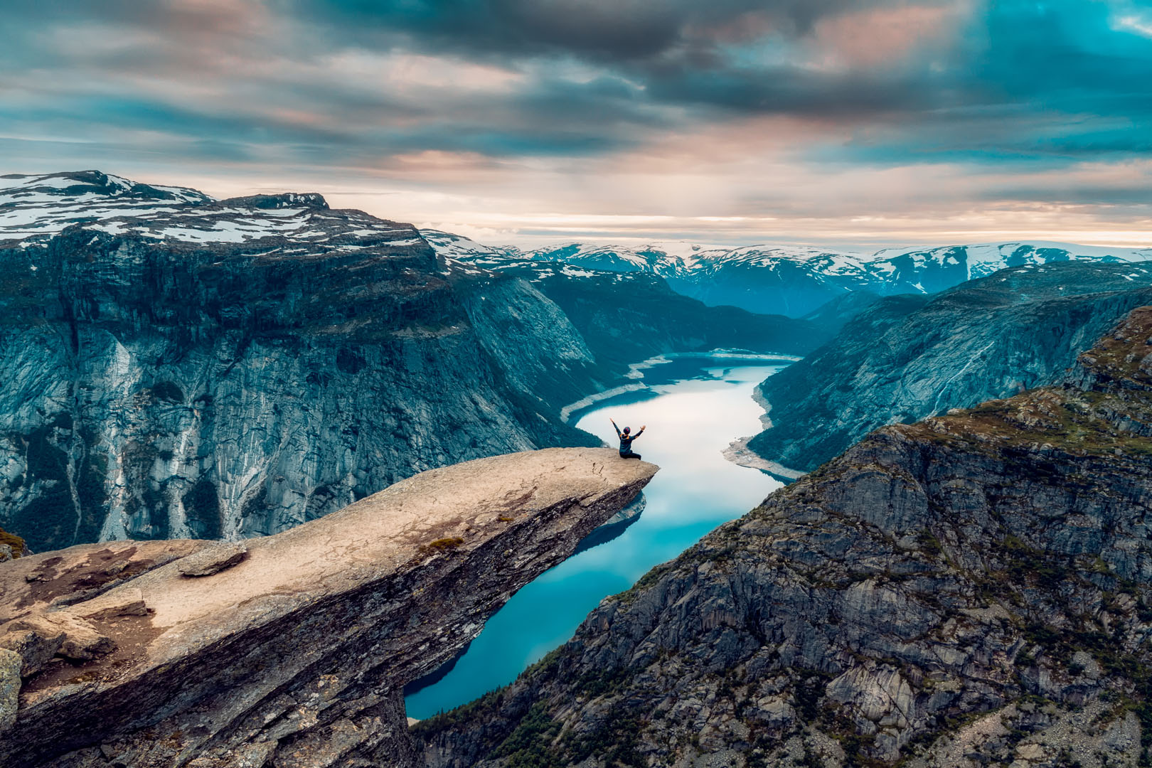 Camping ved Trolltunga og Hardangervidda