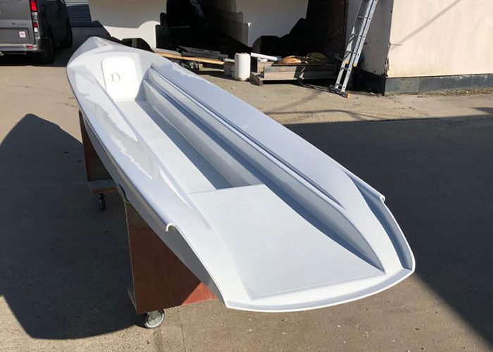 photo of the rannoch explorer hull
