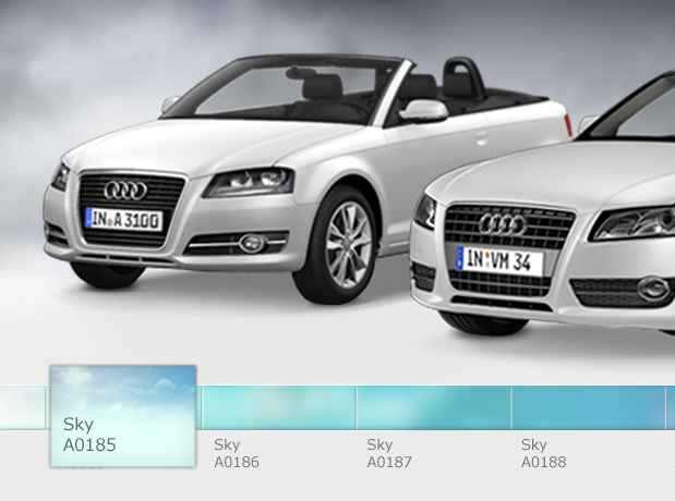 Audi Cabrio Days – Design d'un minisite promotionnel pour la marque Audi (D'Ieteren)