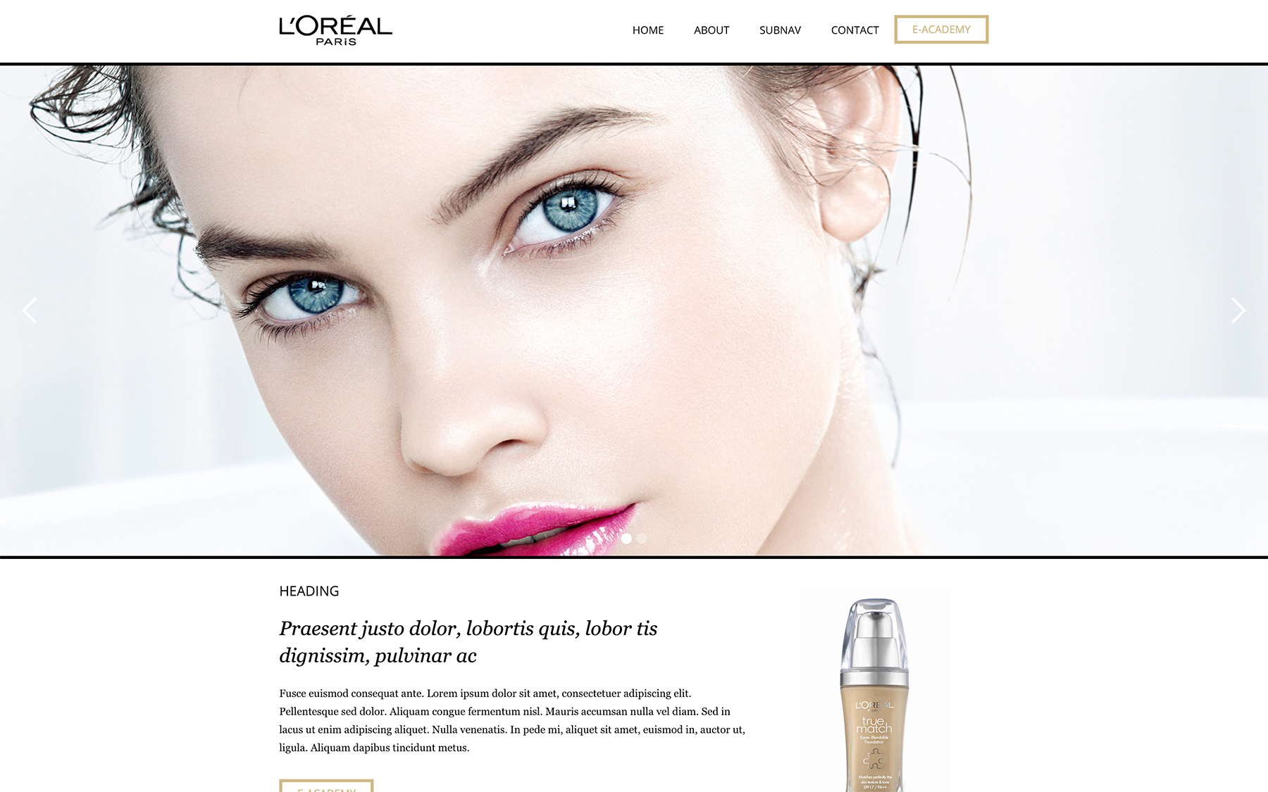 L'Oréal E-Learning