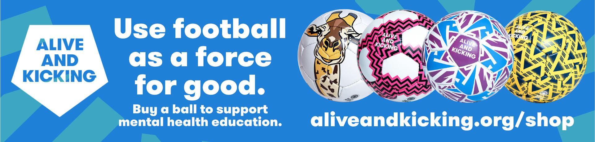 Alive & Kicking banner