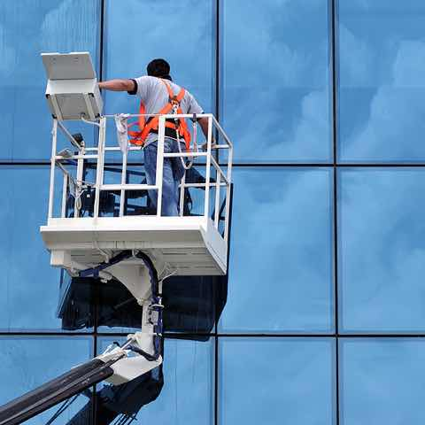 High Rise Window Cleaning in Raleigh