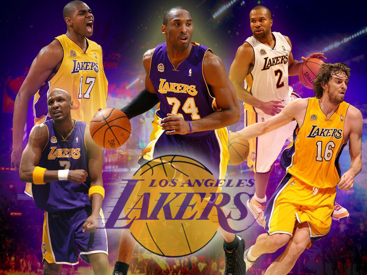 image of the 2014 lakers
