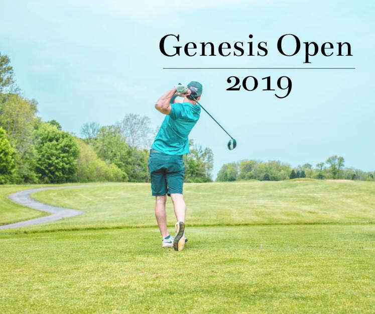 Genesis Open 2019