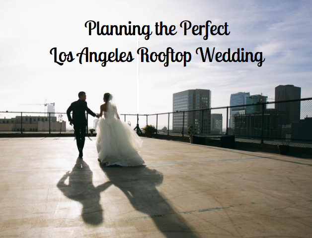 rooftop wedding ceremony in Los Angeles
