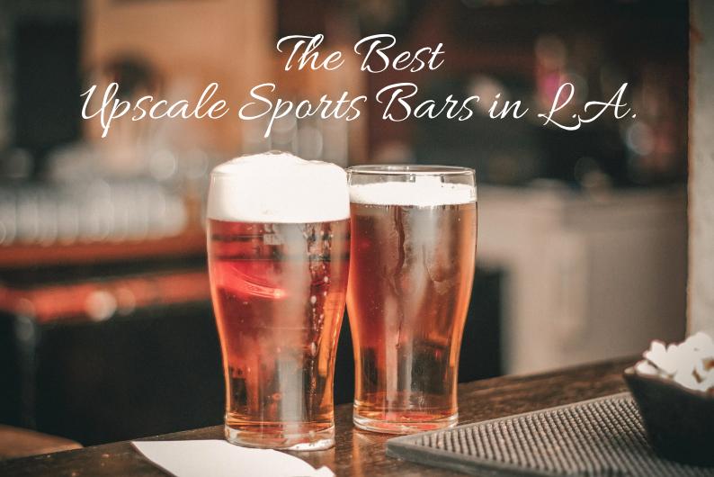 sports bars in LA