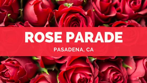 Rose Parade & Rose Bowl Game information
