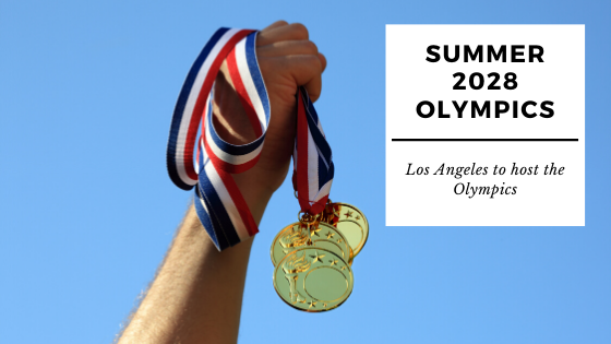 Los Angeles hosting the Summer Olympics in 2028