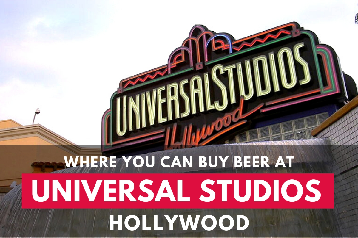 Universal Studios Hollywood Neon Light Sign