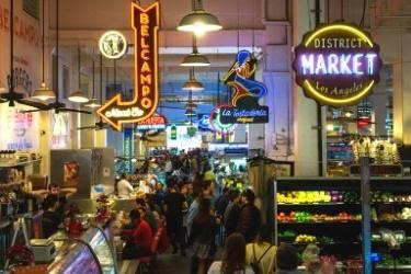 Inside The Grand Central Market