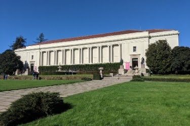 Outside view of Huntington Library