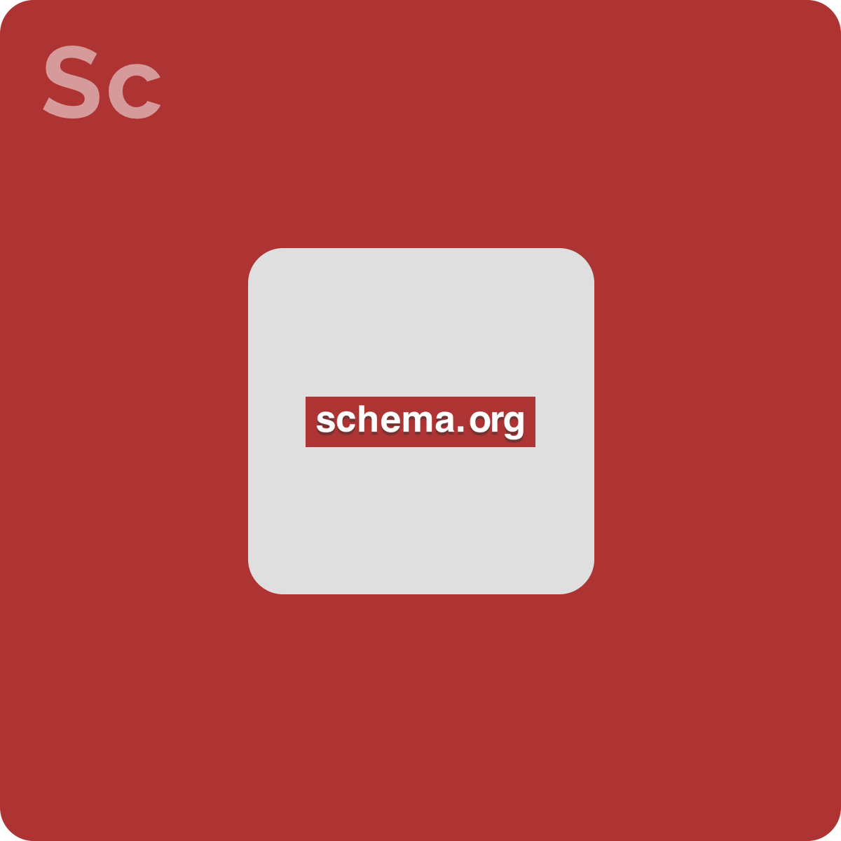 We can help improve your SEO by including the necessary code according to schema.org.