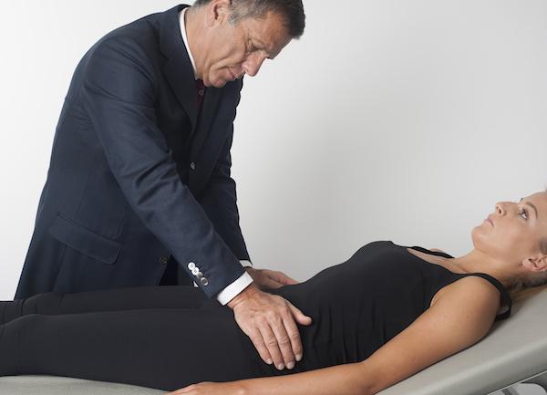 Thigh nerve entrapment syndrome - Meralgia paraesthetica