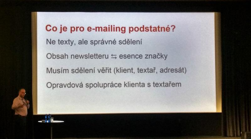 Co je pro e-mailing podstatné?