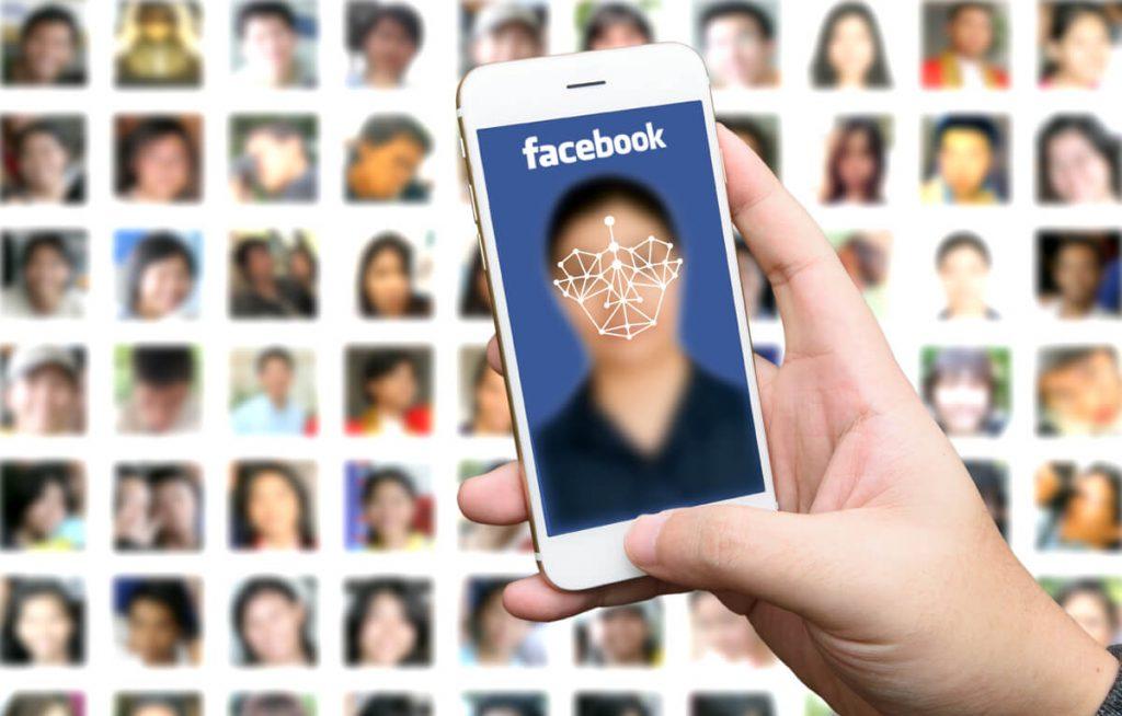 Výsledek obrázku pro facebook face recognition login