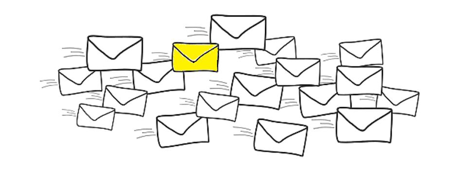 E-mailing webmium