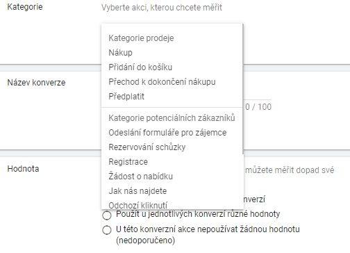 konverze Ads Webmium