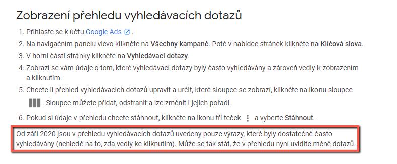 Novinky Google Webmium
