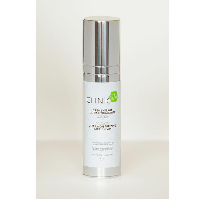 Crème pour le visage ultra hydratante