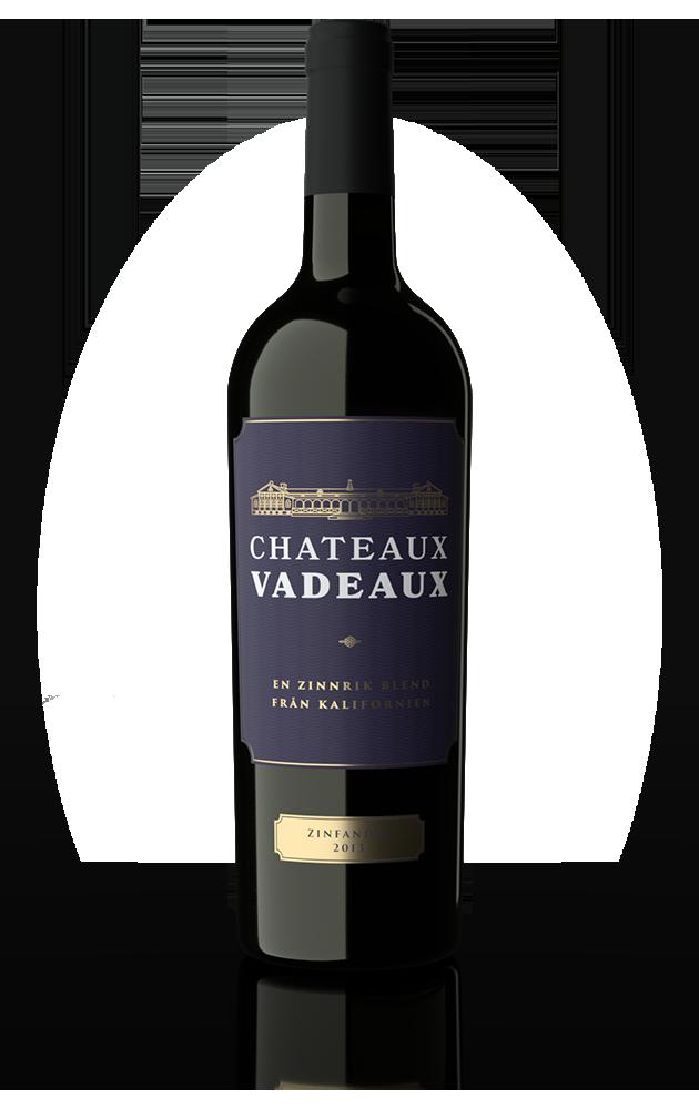 Chateaux Vadeaux wine bottle