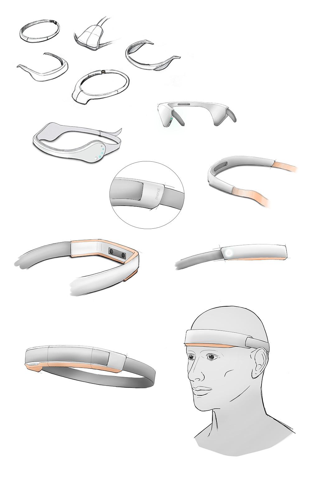 Mendi design process concepts
