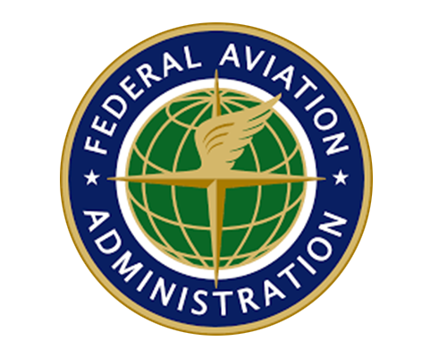 Logo for the Federal Aviation Administration.
