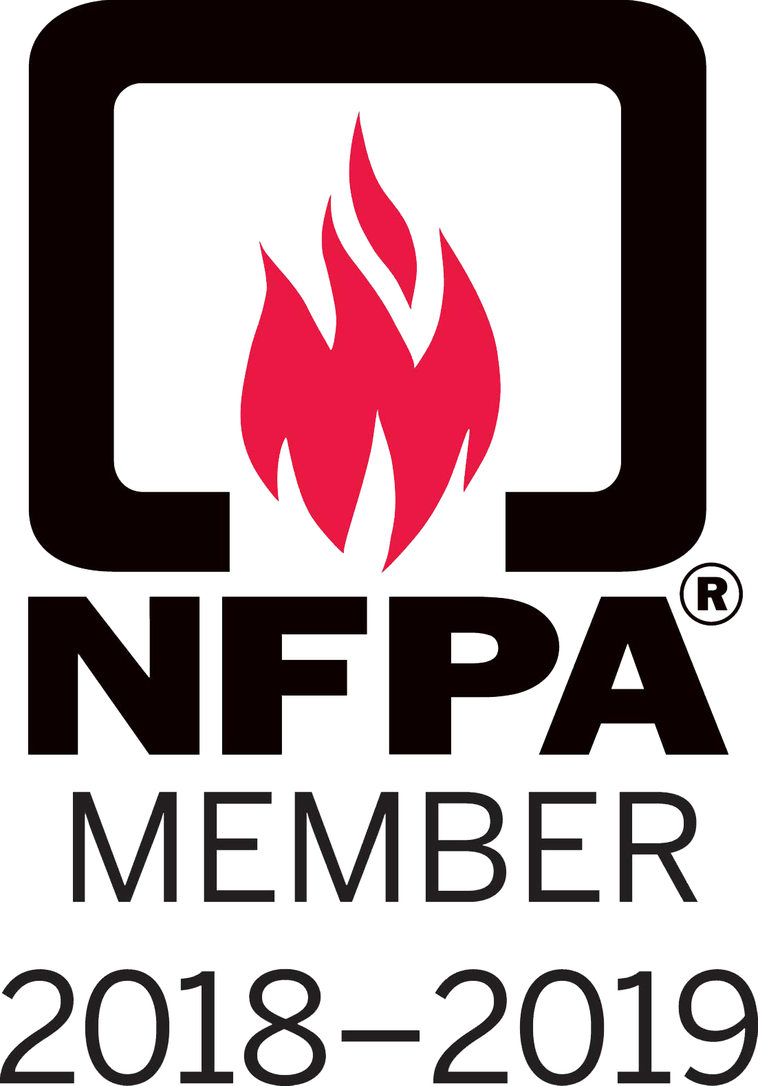 Logo for the NFPA.