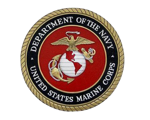 Logo for the United States Marine Corps.