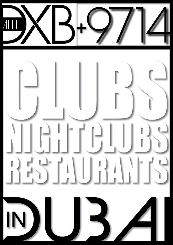 PDI Press - clubs, nightclubs, restaurants in dubai