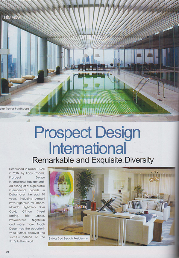 prospect design - remarkable and exquisite diversity
