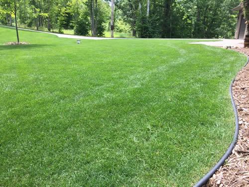 Gull Lake lawn fertilizing