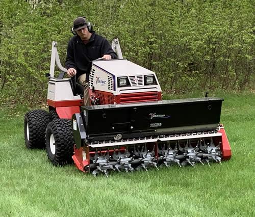 Brainerd lawn aerating