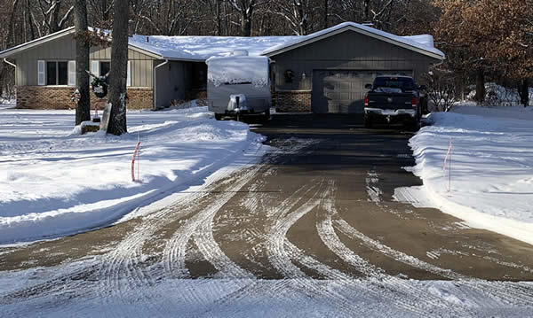 Create a safe driveway this winter.