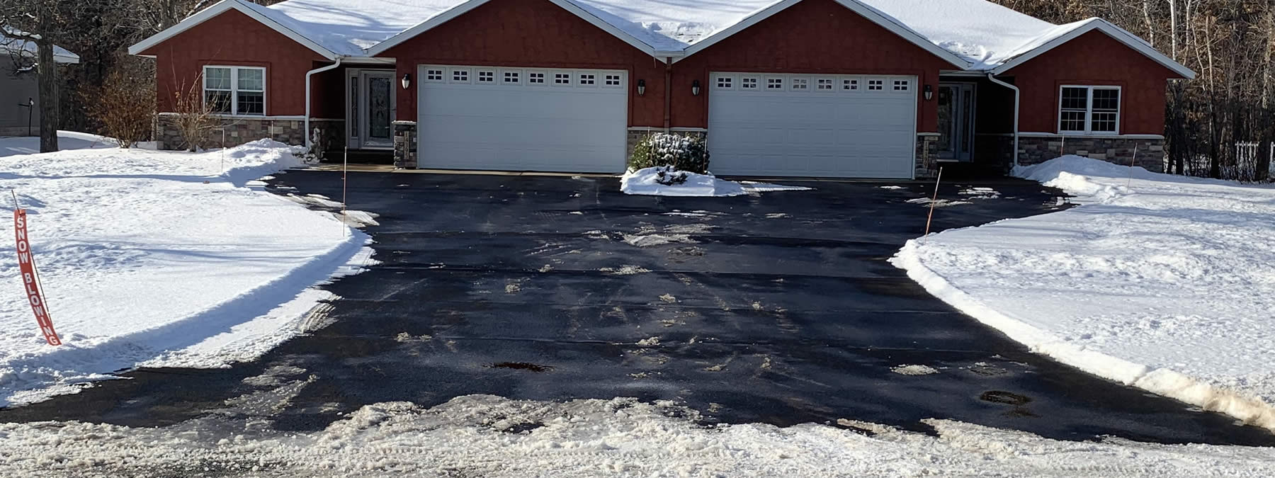 Deicing service for townhomes