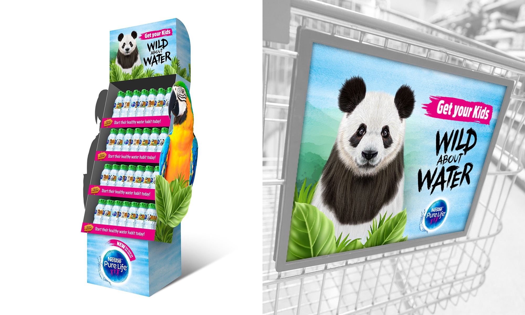 Nestlé Pure Life Kids - Packaging + Photography