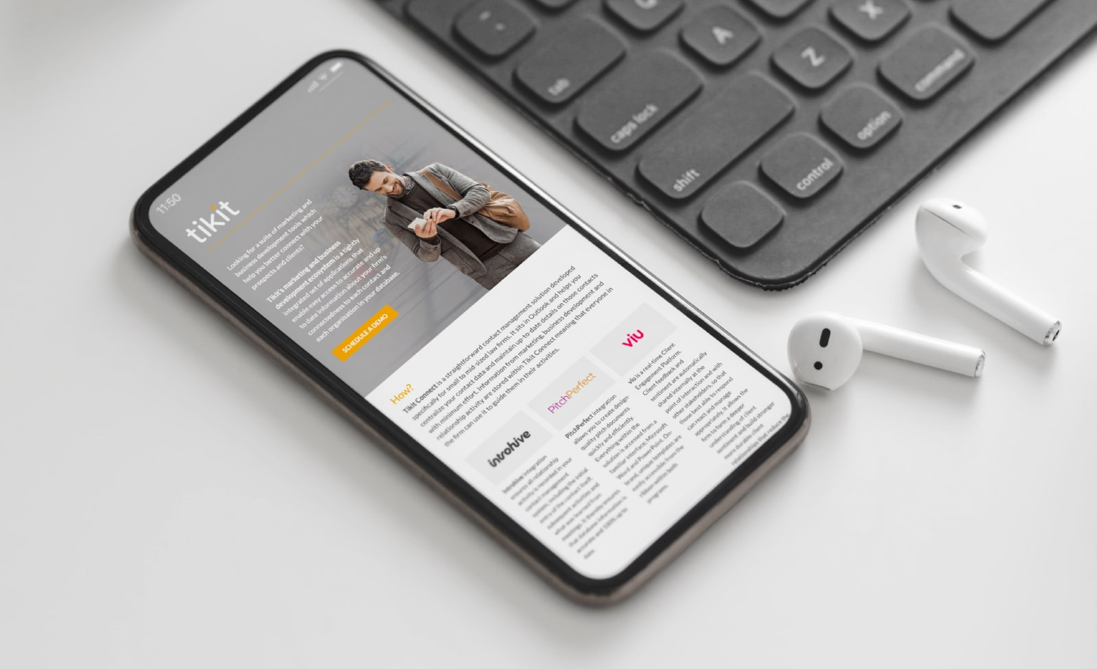 Tikit Email Design | Q+H London