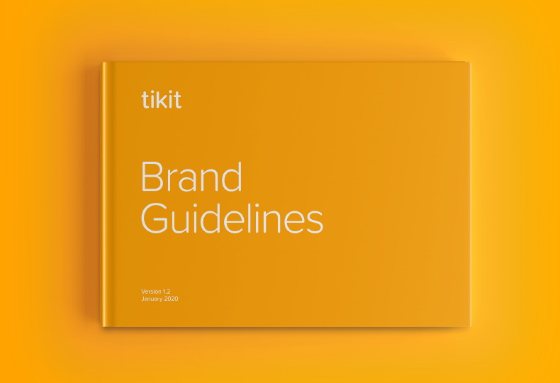 Tikit Brand Guidelines | Q+H London