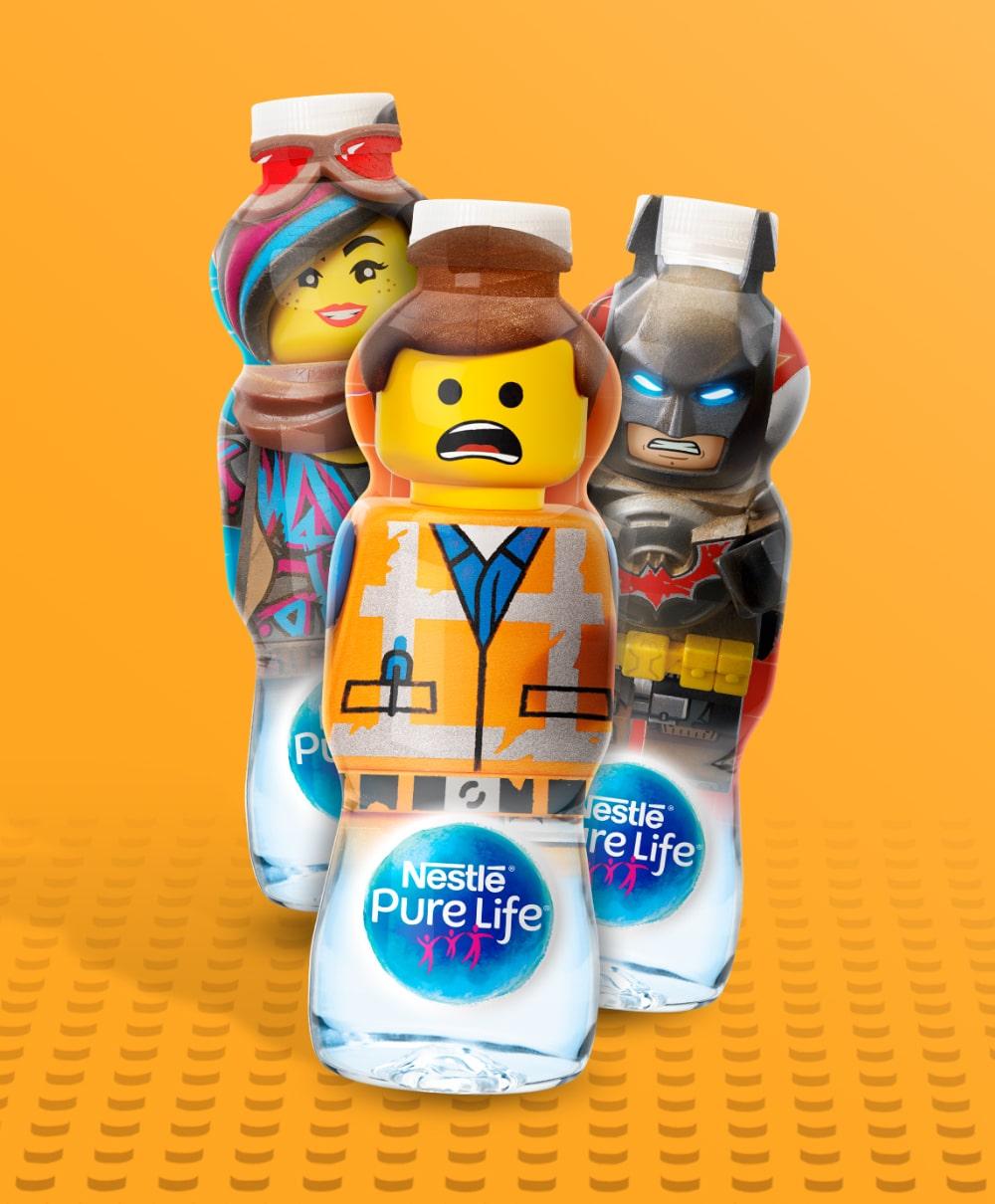 NPL Lego Batman Bottles   Q+H London