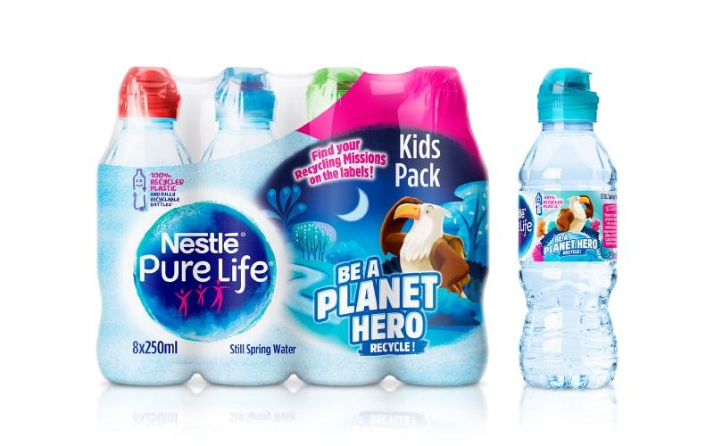 NPL Water Bottles Packaging   Q+H London
