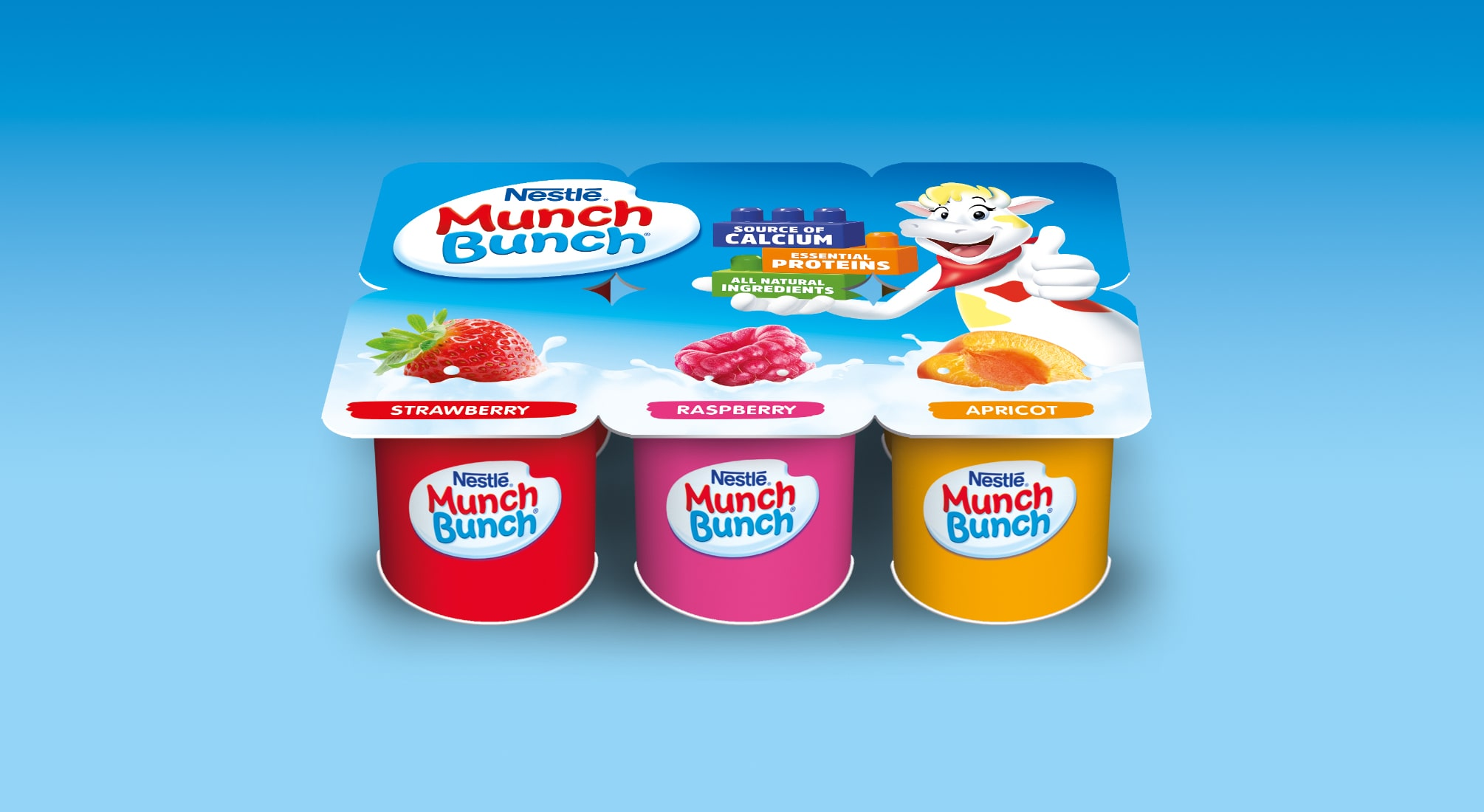 Munch Bunch Yogurt Packaging   Q+H London