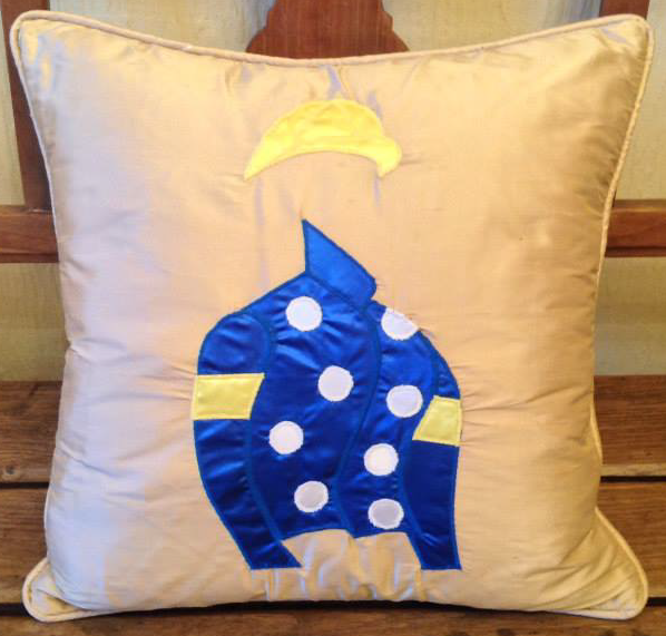 Winning Memories Racing Colours Cushion