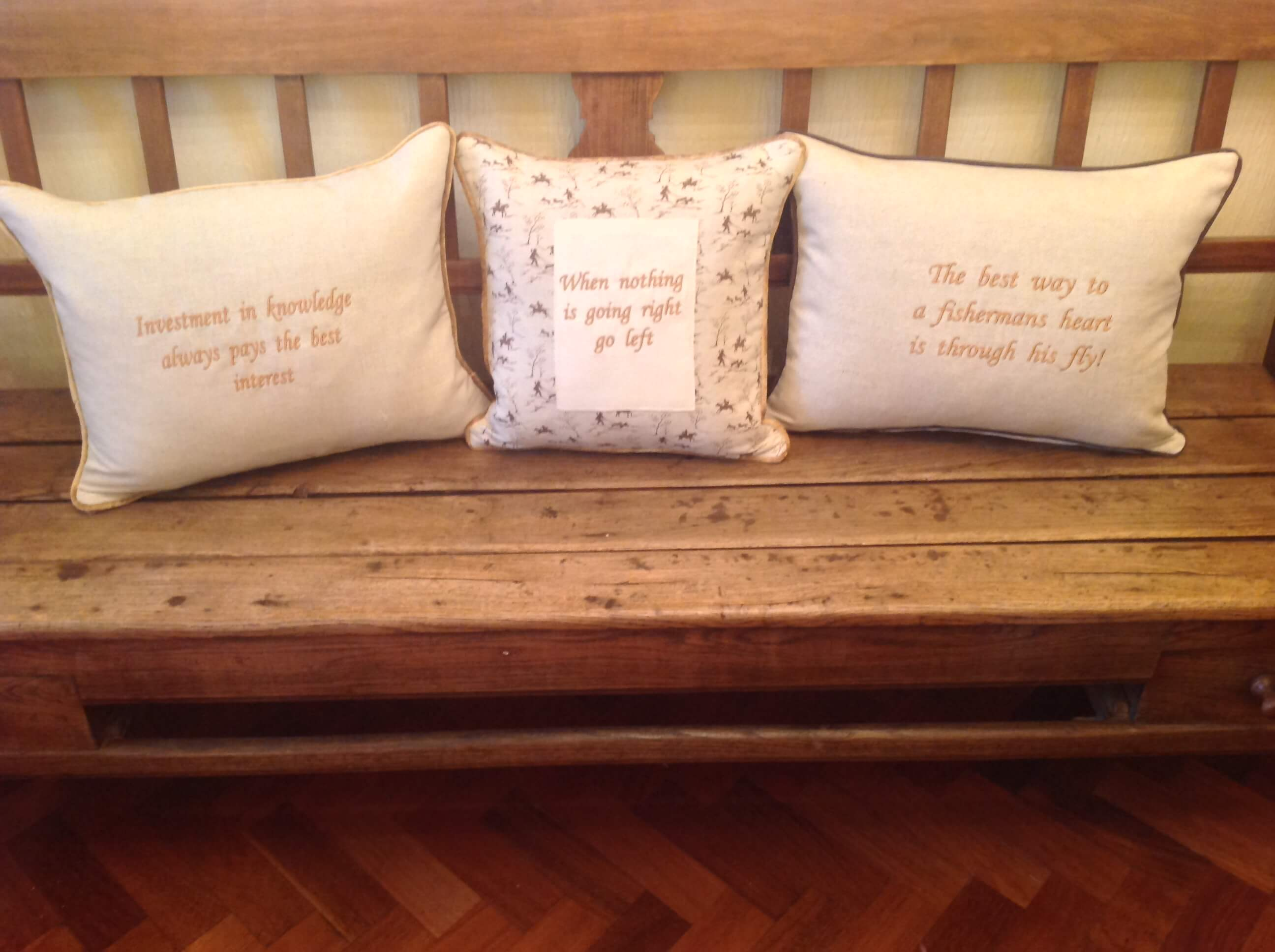 Winning Memories Quote Cushions