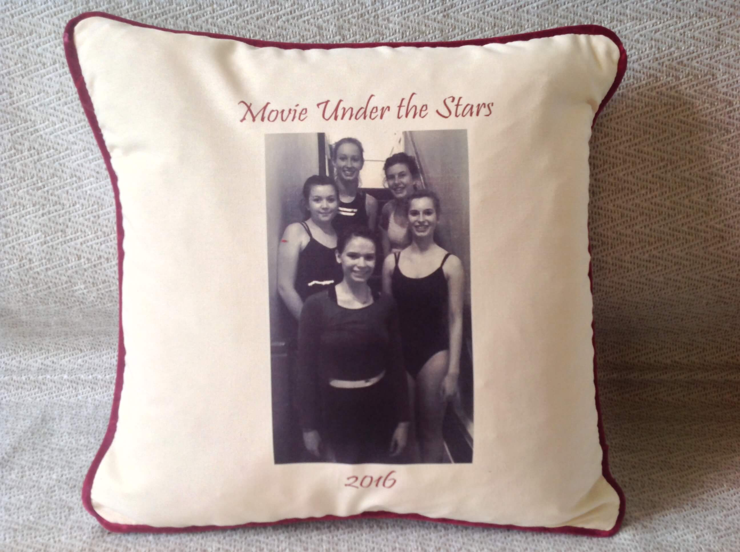 Winning Memories Photo Cushions