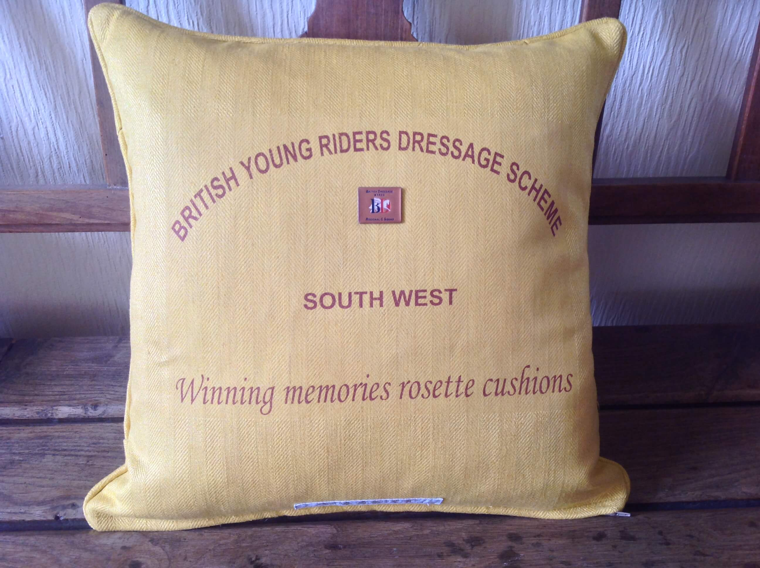Winning Memories Competition Winner Cushion