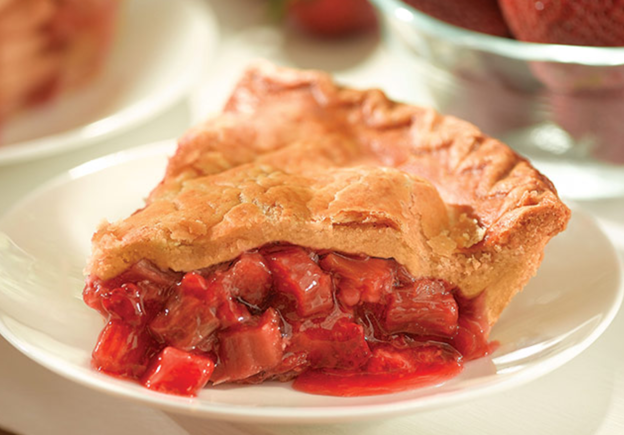 "9"" Strawberry Rhubarb Pie"