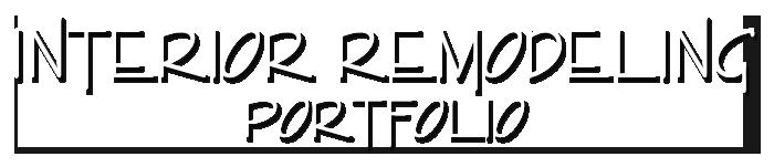 interior remodeling portfolio